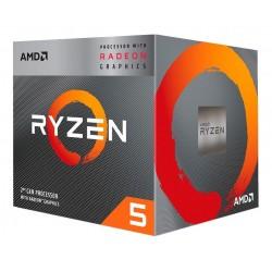PROCES. AMD RYZEN 5 3400G SK AM4 C/RAD. RX VEGA 11
