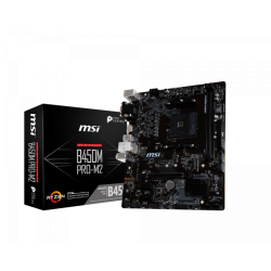 MOTHER MSI AM4 B450M PRO-M2 MAX V/H/D/S/R/M2