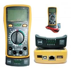 TESTER JA MOD. JA-4300 PROB. RJ45/USB + TESTER
