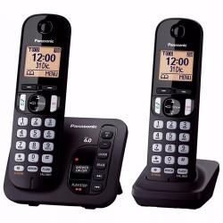 TELEFONO PANASONIC KX-TGC222AGB NEGRO