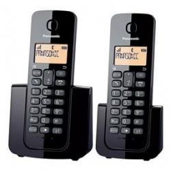TELEFONO PANASONIC KX-TGB112AGB 2 HANDIES NEGRO