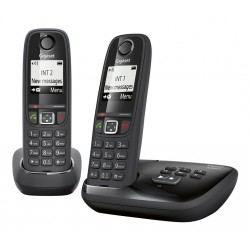 TELEFONO GIGASET AS405A DUO 2 HANDIES/CONTEST/NEGR