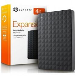 DISCO EXTERNO USB 4TB SEAGATE EXPANSION 3.0 BLACK