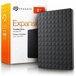 DISCO EXTERNO USB 2TB SEAGATE EXPANSION 3.0 BLACK