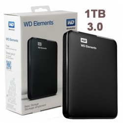 DISCO EXTERNO USB 1TB W. DIGITAL ELEMENTS 3.0