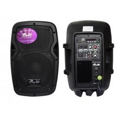 "BAFLE GBR  8"" PL-840 POWER - PRO SERIES MP3/BT/FM"