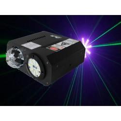 LUZ GBR EF. INTIMIDA LED DMX / 4 LED X 3W RGBY