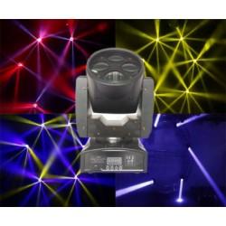 LUZ GBR EF. REVOLUTION 4 CABEZAL 4 LEDS RGBA 10W